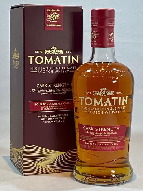 Tomatin Cask Strength Bourbon & Sherry Casks, Highland Single Malt Scotch Whisky