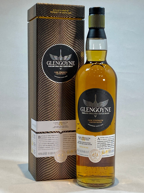 Glengoyne Cask Strength Batch 8,  Highland Single Malt Scotch Whisky
