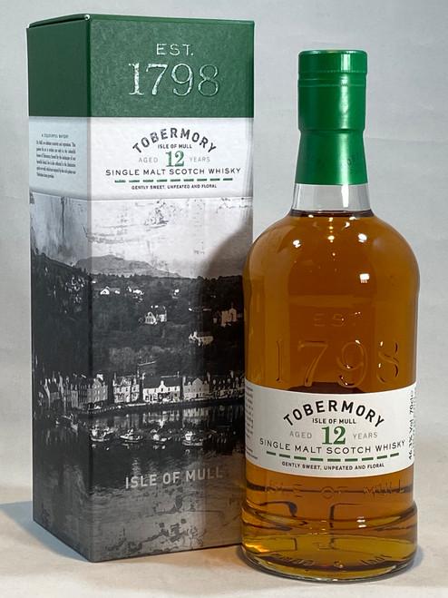 Tobermory 12 Year Old, Single Malt Scotch Whisky