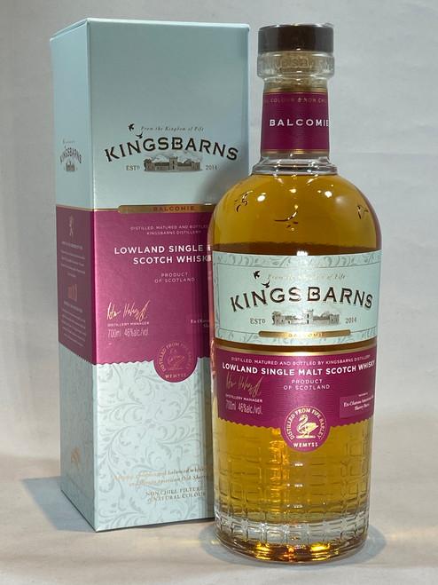 Kingsbarns Balcomie Sherry Cask Matured Lowland Single Malt Scotch Whisky