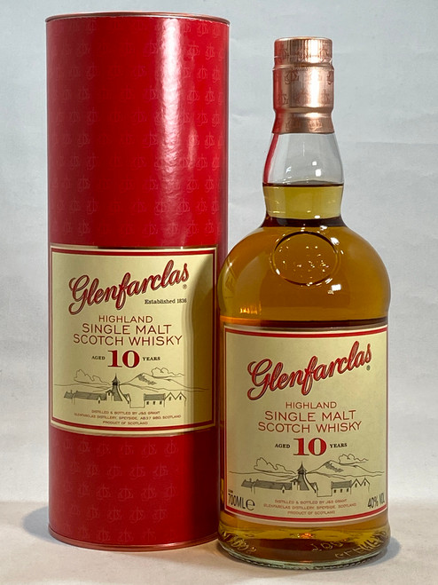 Glenfarclas 10 Year Old, Highland Single Malt Scotch Whisky