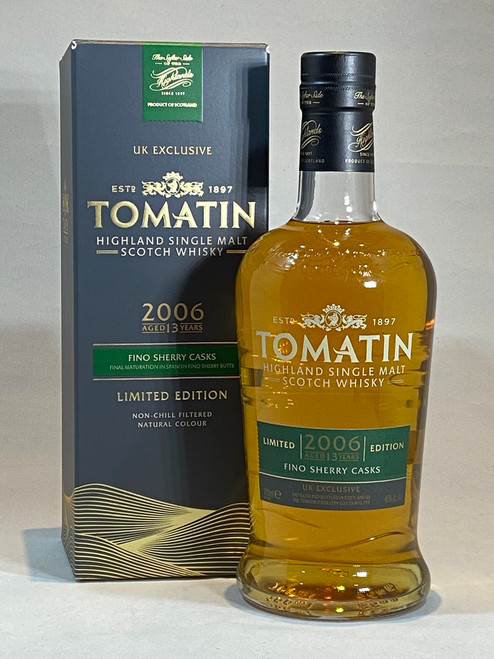 Tomatin Fino Sherry Cask 2006, Highland Single Malt Scotch Whisky