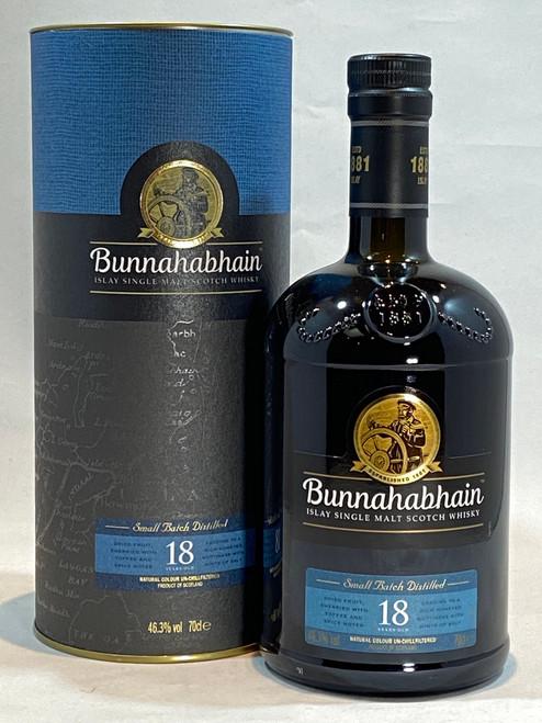 Bunnahabhain 18 Year Old Islay Single Malt Scotch Whisky
