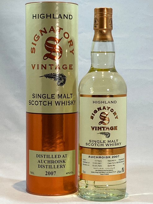 Signatory Vintage Auchroisk 2007 Highland Single Malt Scotch Whisky