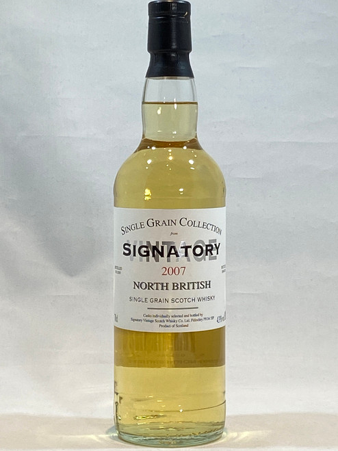 Signatory North British 2007, 12 Year Old Single Grain Scotch Whisky