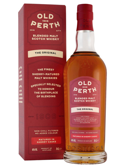 Old Perth Original Sherry Cask Matured, Blended Malt Scotch Whisky