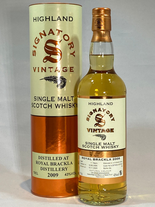 Signatory Vintage Royal Brackla 2009 Highland Single Malt Scotch Whisky