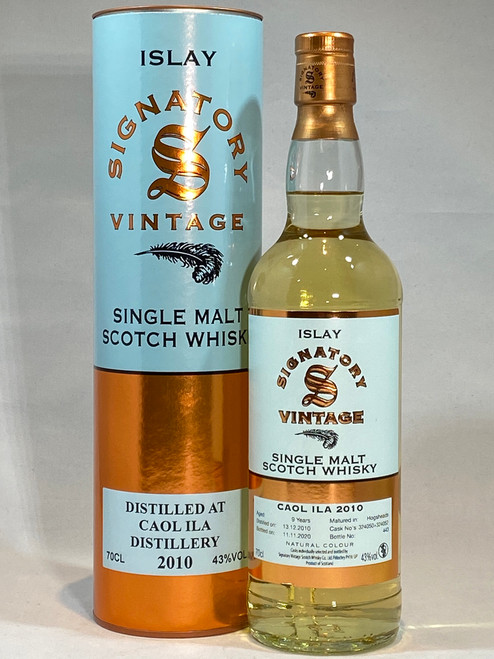 Signatory Vintage Caol ila 2010 Islay Single Malt Scotch Whisky