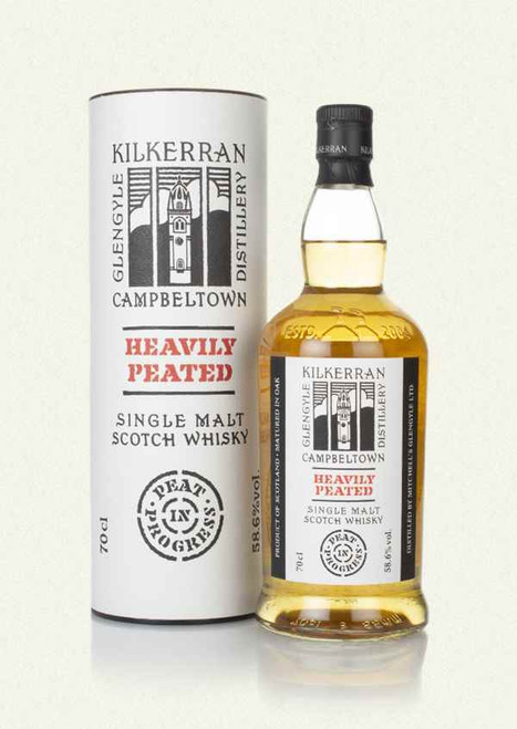 Kilkerran Heavily Peated Batch 4, Campbeltown Single Malt Scotch Whisky