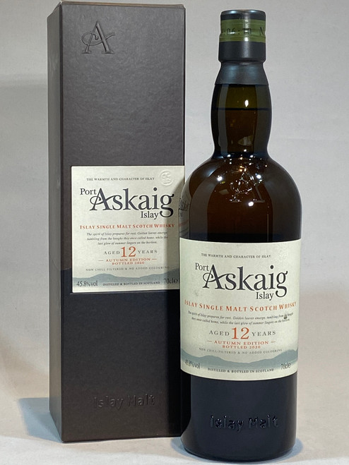 Port Askaig 12 Year Old Autumn Edition, Islay Single Malt Scotch Whisky