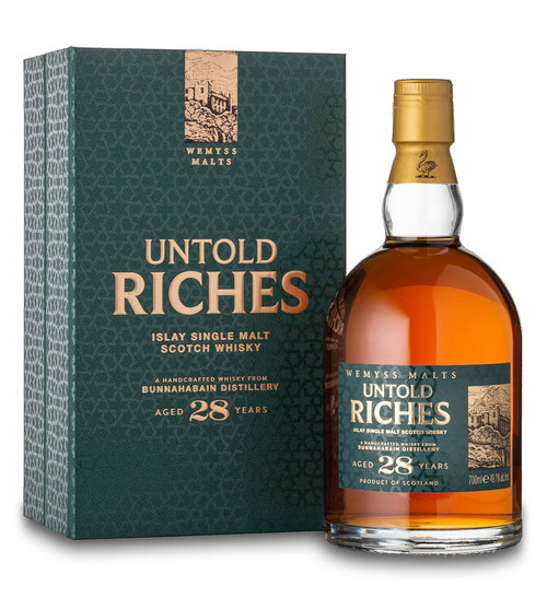 Bunnahabhain 28 Year Old, Untold Riches, Islay Single Malt Scotch Whisky