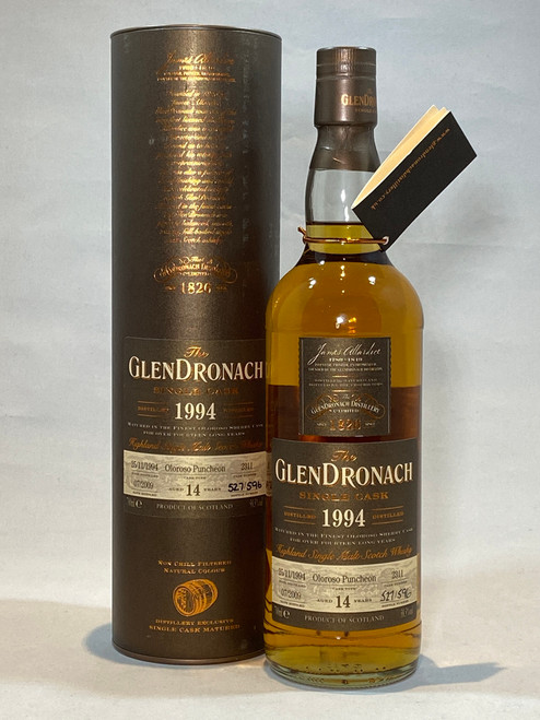 The GlenDronach Single Cask 1994, Highland Single Malt Scotch Whisky