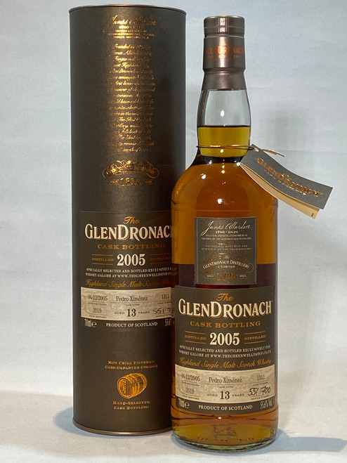 The GlenDronach Cask Bottling 2005, Highland Single Malt Scotch Whisky