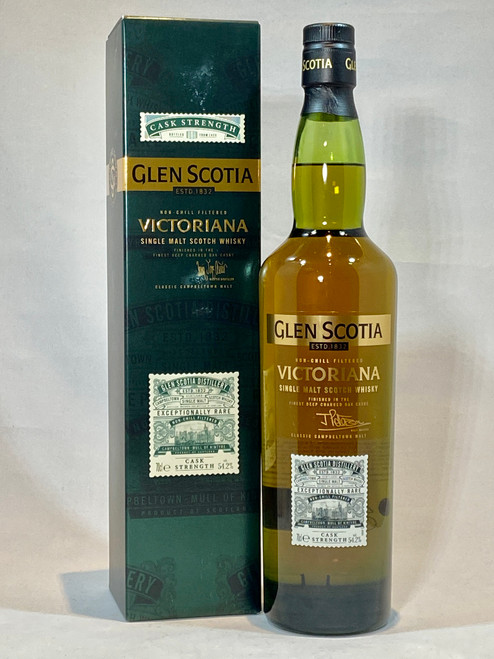 Glen Scotia Victoriana Cask Strength, Campbeltown Single Malt Scotch Whisky