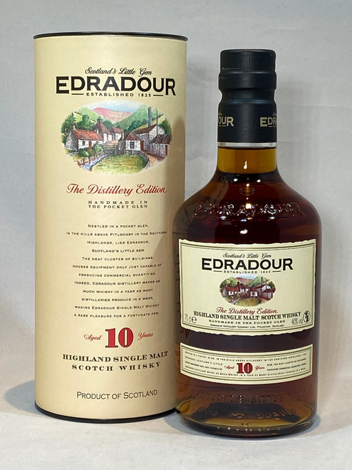 Edradour 10 Year Old, The Distillery Edition, Highland Single Malt Scotch Whisky
