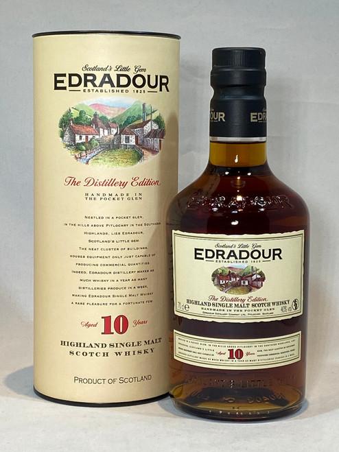 Edradour 10 Year Old, The Distillery Edition, Highland Single Malt Scotch Whisky
