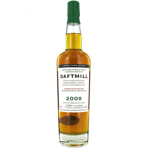 Daftmill Summer Release 2009 (UK), Lowland Single Malt Scotch Whisky