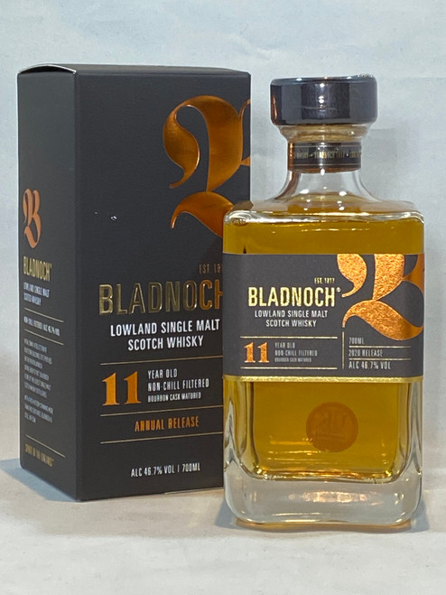 Bladnoch 11 year Old Annual Release, Lowland Single Malt Scotch Whisky