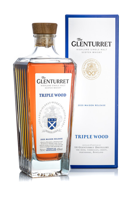 The Glenturret Triple Wood 2020 Maiden Release, Highland Single Malt Scotch Whisky