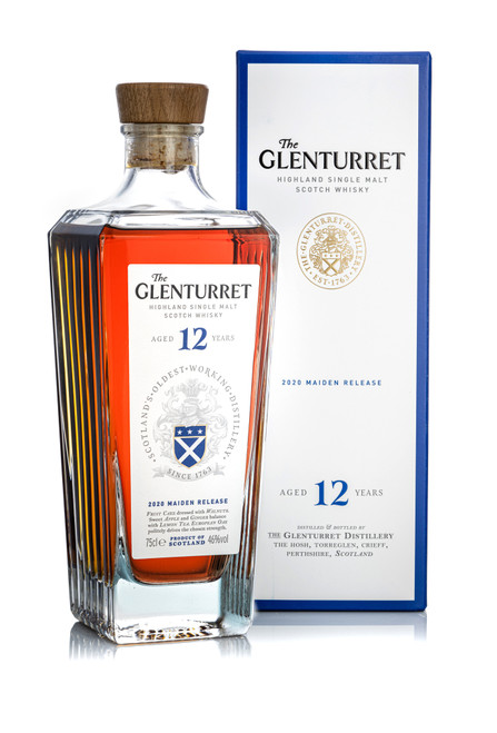 The Glenturret 12 Year Old 2020 Maiden Release, Highland Single Malt Scotch Whisky