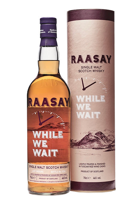 Raasay While We Wait - Last orders, Highland Single Malt Scotch Whisky