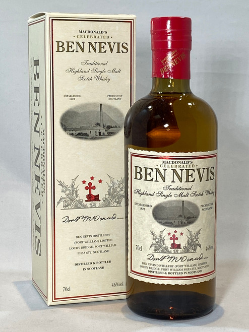 Ben Nevis Traditional, Highland Single Malt Scotch Whisky
