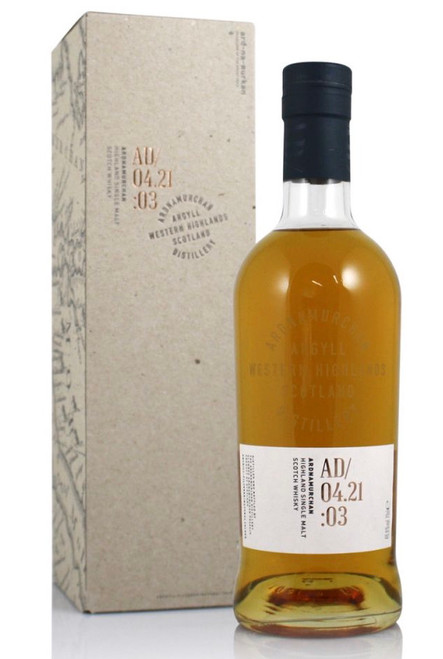 Ardnamurchan Single Malt AD04.21:03, Single Malt Scotch Whisky