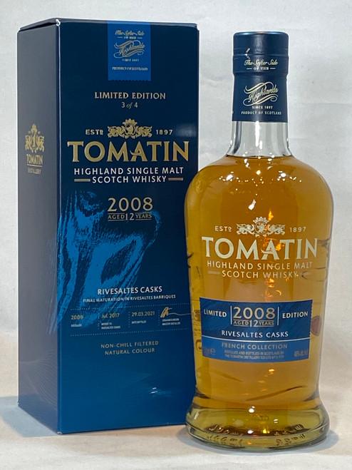 Tomatin Rivesaltes Cask 2008, Highland Single Malt Scotch Whisky