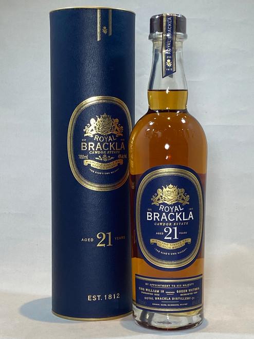 Royal Brackla 21 Year Old, Highland Single Malt Scotch Whisky