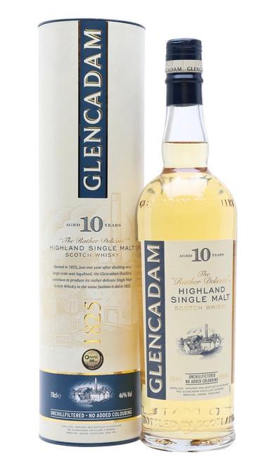 Glencadam 10 Year Old, Highland Single Malt Scotch Whisky