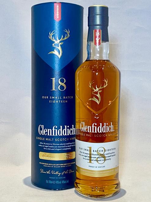 Glenfiddich Small Batch 18 Year Old,  Single Malt Scotch Whisky