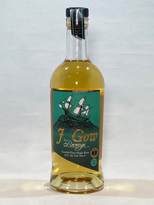 J. Gow Revenge Rum, Produce of Scotland