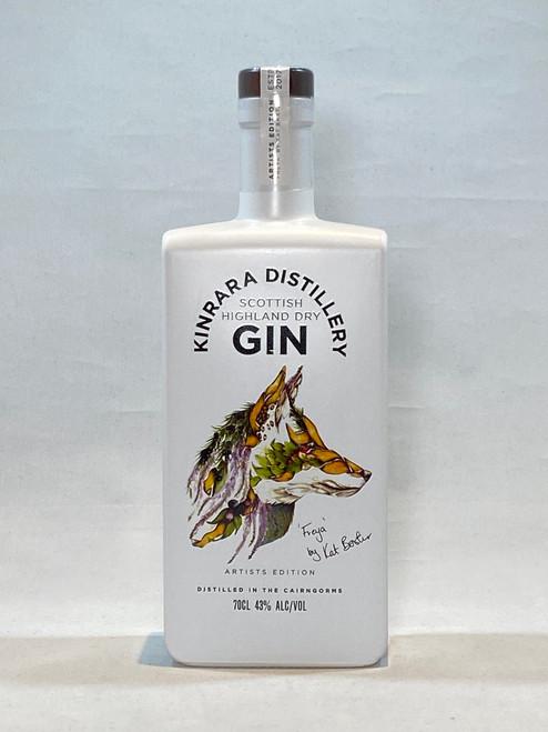 """Kinrara Gin, Artists Edition Gin """"Freya"""" the Fox , Scottish Dry Gin"""