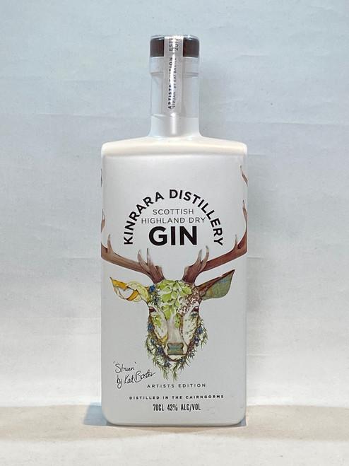 "Kinrara Gin, Artists Edition ""Struan"" the Stag , Scottish Dry Gin"