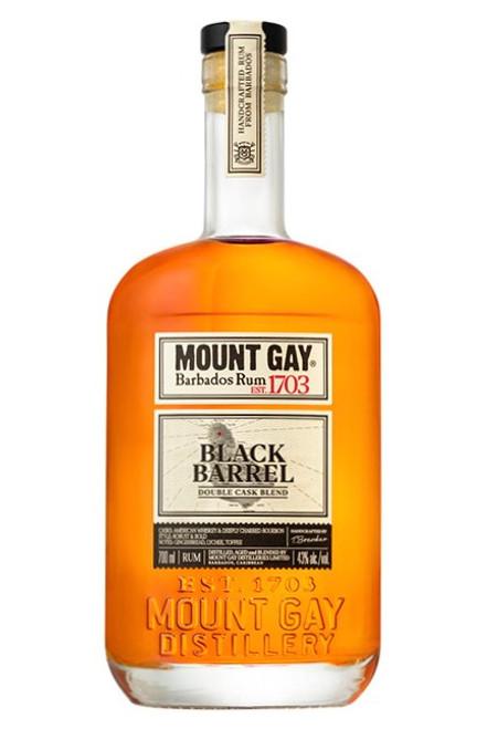 Mount Gay, Black Barrel Rum,  Produce of  Barbados