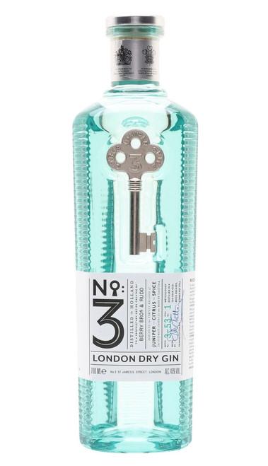No.3 London Dry Gin, English Gin,