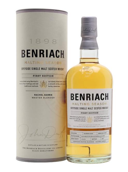 Benriach Malting Season, First Edition  Speyside Single Malt Scotch Whisky