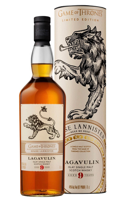 Lagavulin 9 Years Old House of Lannister, Islay Single Malt Scotch Whisky