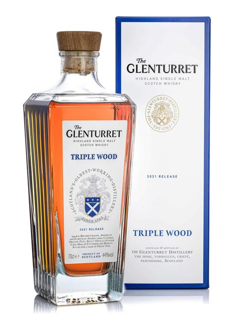The Glenturret Triple Wood 2021 Release, Highland Single Malt Scotch Whisky