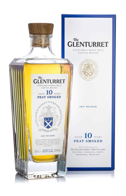 The Glenturret Peat Smoke 2021 Release, Highland Single Malt Scotch Whisky