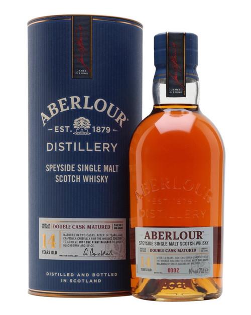 Aberlour 14 Years Old Double Cask Matured, Speyside Single Malt Scotch Whisky