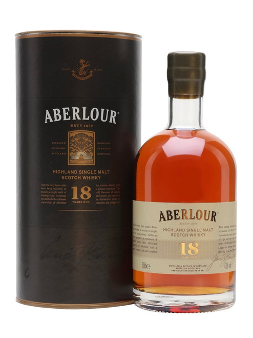 Aberlour 18 Years Old Double Cask Matured, Speyside Single Malt Scotch Whisky