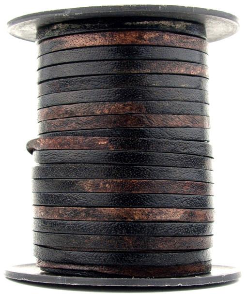 Gypsy Sippa Flat Leather Cord 3mm 1 Yard