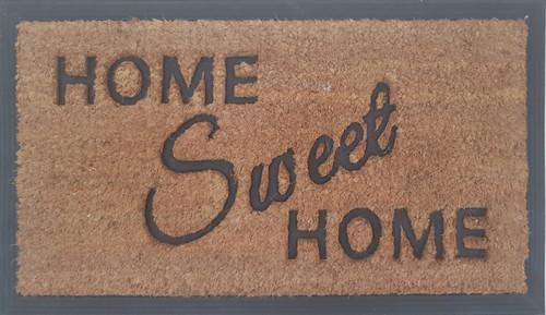 Coir rubber home sweet home mat