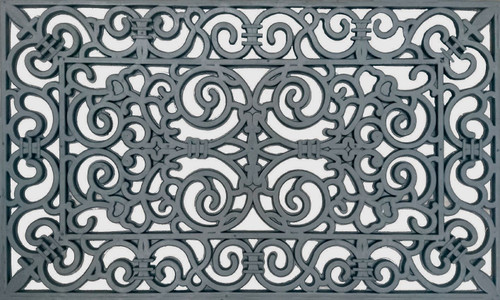 Rubber Filigree Door Mat