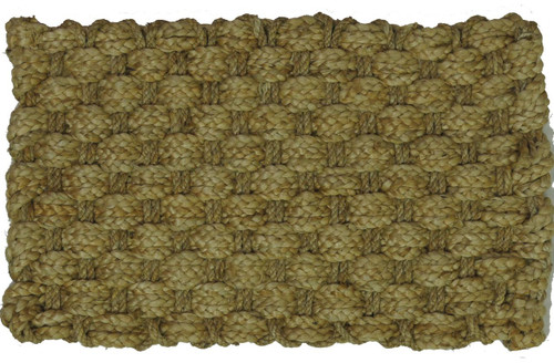 Natural Jute Basket Weave Indoor Door mat