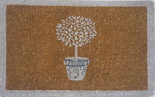 Topiary Printed Premium Quality Coir Door Mat