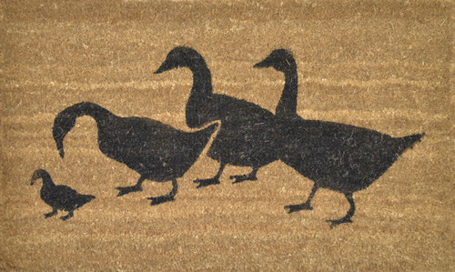 PVC Backed Coir Ducks 45 x 75cm