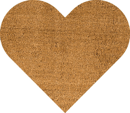 Heart Door Mat Made From Coir