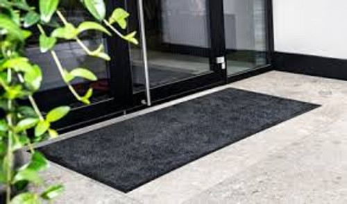 Best absorbent entrance mat with non slip rubber backing also ideal for kitchen